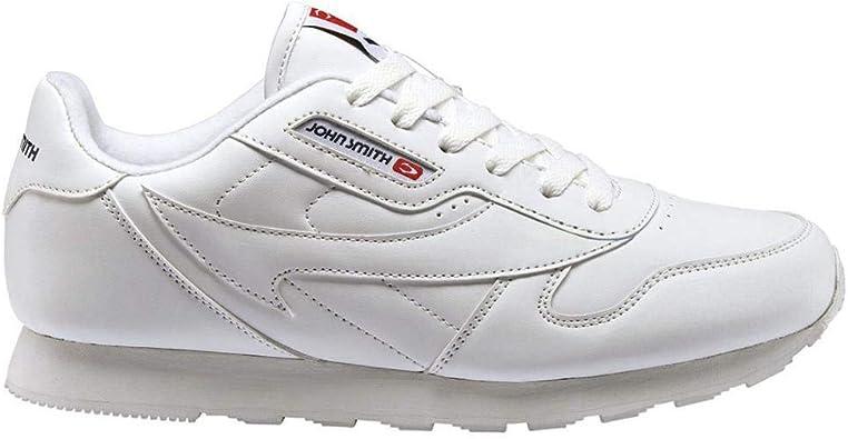 Zapatilla John Smith Cresir Blanco/Marino: Amazon.es: Zapatos y complementos
