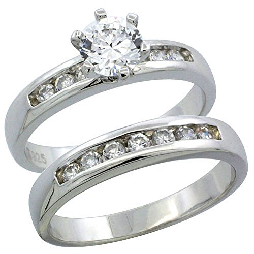 Classic Channel Set Wedding Ring - 8