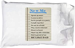 Hat Shark Pillow Case Single Pillowcase - Be Like Dad New Me List Elf Magical Movie Parody