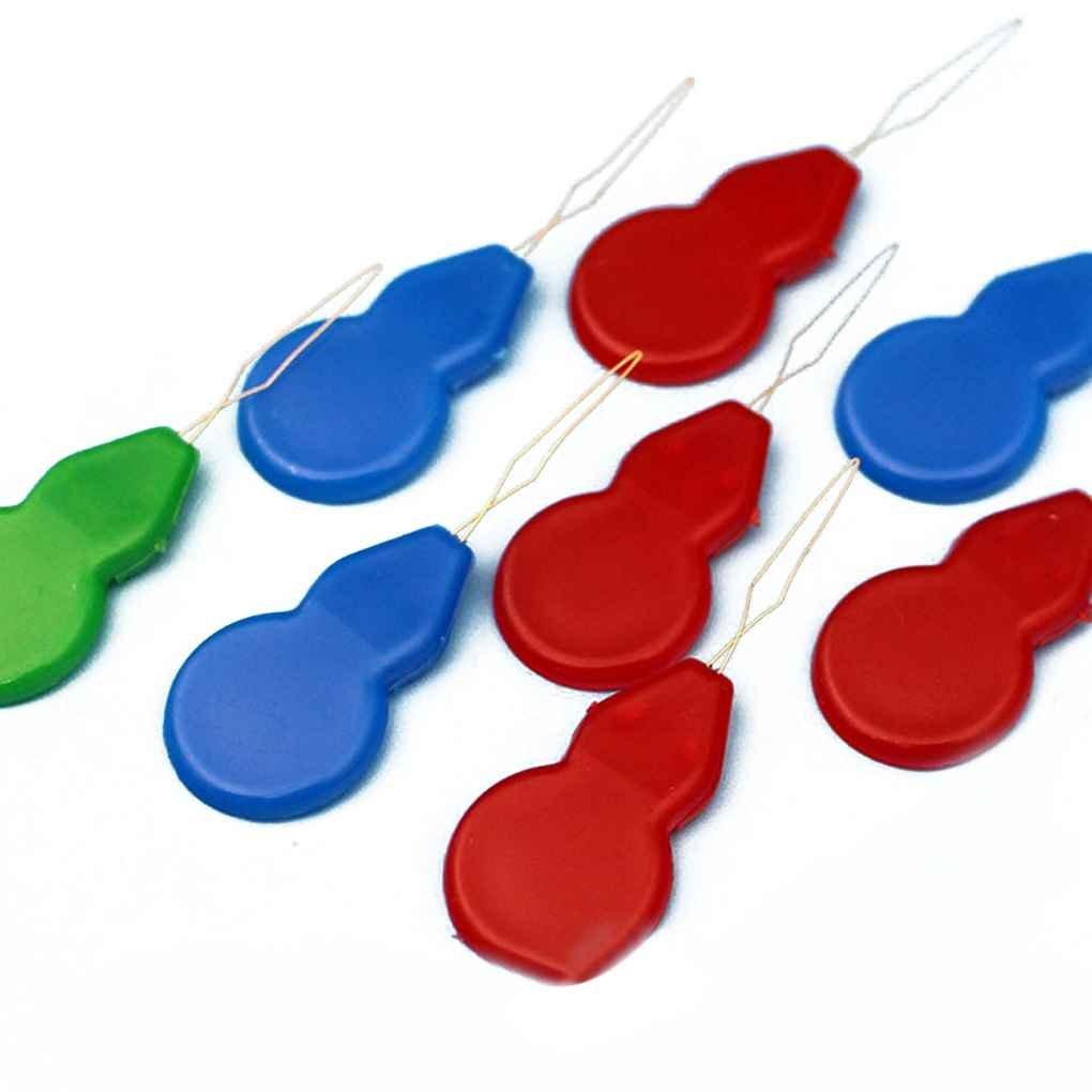 Omkuwl 10 unids aguja de alambre de plástico hilo de coser trabajo hecho a mano herramientas de perforación artesanías hilo guía: Amazon.es: Hogar