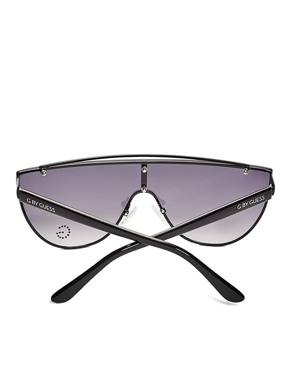70ceba8229 G by GUESS Women s Flat Gradient Shield Sunglasses at Amazon Women s  Clothing store