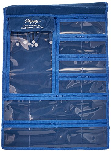 Hagerty Hanging Jewelry Keeper Made with Hagerty's Silver Cloth to Prevent (Cloth Jewelry Bags)