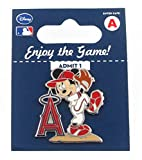 MLB Los Angeles Angels Disney Mickey Wind Up Collectible Trading Pin