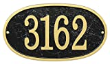 Comfort House Metal Address Plaque - House Number Sign - Choose Your Shape and Color MFA0027