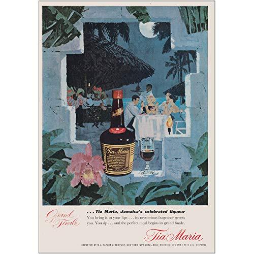 1964 Tia Maria: Jamaicas Celebrated Liqueur, Tia Maria Print Ad ()