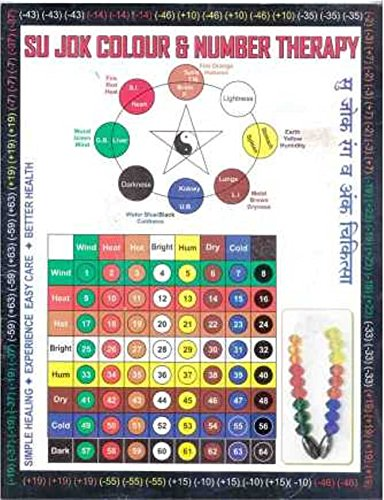 Sujok Colour & Number Therapy Paperback – 1995 by ACS MAT® (Image #1)
