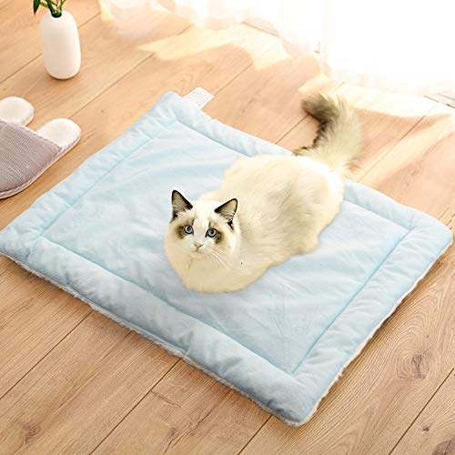 Weiai Pet Bed Soft Pet Mat Washable Cushion Pad Warm Cover for Cat or Dog, Simple Style