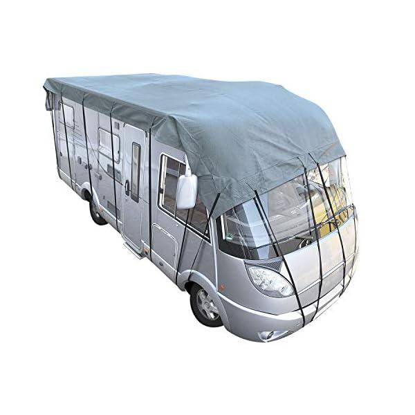 51rshFdgLdL Cartrend Caravan 10248 Dachschutzplane Plane Dachplane Dachschutz Caravan Schutzhülle Abdeckplane Dachschutz Caravan