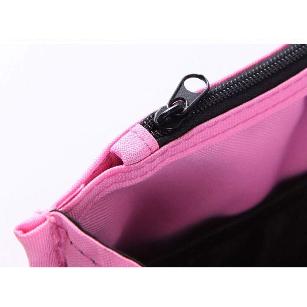 LORGDFDF Practical Multi-Function Baby Stroller Organizer Bag Cosmetic Bag for Women Lots of Space Light and Durable Pink is A (Color : Pink, Size : Free Size) by LORGDFDF (Image #2)
