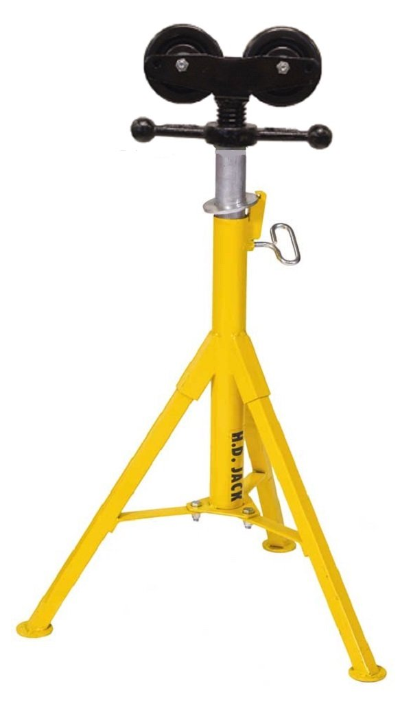 Sumner 780391 ST-907 Heavy Duty Lo Jack, Rubber Wheels, 21'' to 36'' Adjustable Height, 2500 lb. Capacity