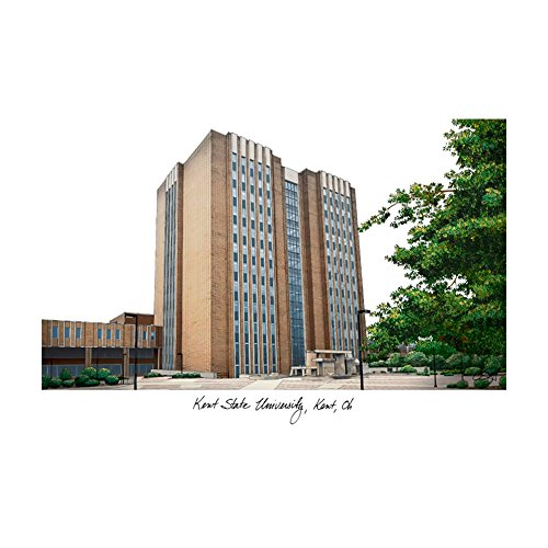 Campus Images Kent State University Campus Images Lithograph Print