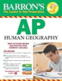 img - for Barron's AP Human Geography with CD-ROM, 5th Edition by Marsh Ph.D. Meredith Alagona Ph.D. Peter S. (2014-02-01) Paperback book / textbook / text book