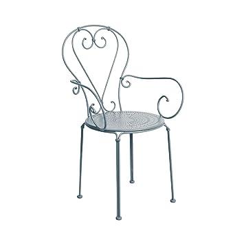 Butlers Century Stuhl Mit Armlehnen 53 X 49 X 91 Cm Weißer