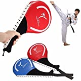 Taekwondo Double Kick Pad Target Tae Kwon Do Karate Kickboxing Traning Gear (Random: Color)