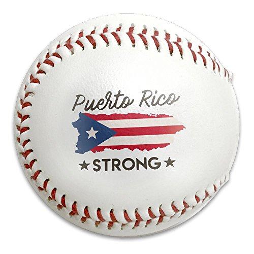 Puerto Rico Strong Size 9 Safety Soft Baseballs Bullet Ball Training Ball - 9 Tribe Sunglasses
