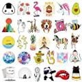 Stickers For Water Bottles 65 Pack Qucuek Cute Aesthetic Trendy Stickers For Girls Teens Perfect For Waterbottle Laptop Phone Travel Extra Durable 100 Vinyl