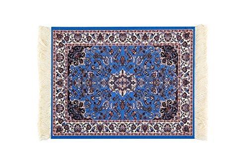 Cojín de ratón alfombra, alfombrilla de ratón persa Oriental Lexiart tejida, 9,5 x 7,5 x 0,5