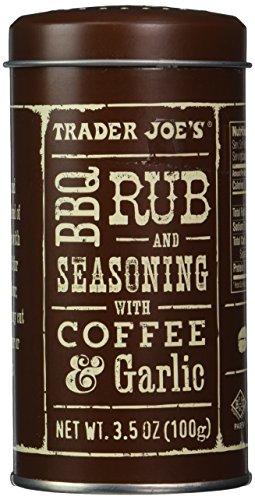 Trader Joe's BBQ Rub and Seasoning with Coffee & Garlic