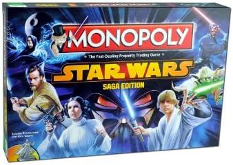 Monopoly - Juego de Mesa Star Wars, de 2 a 6 Jugadores (Winning ...