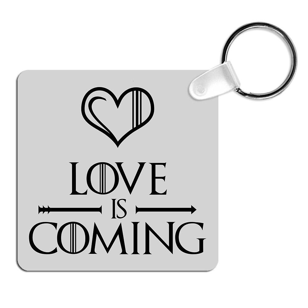 Llavero Love is coming. Parodia Winter is coming, Juego de ...