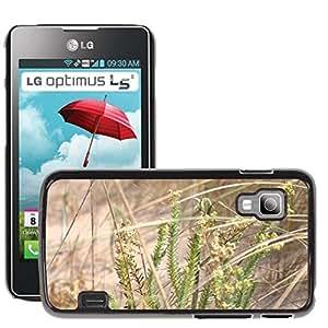 Hot Style Cell Phone PC Hard Case Cover // M00309535 Nature Marsh Dune // LG Optimus L5 II Dual E455 / E460