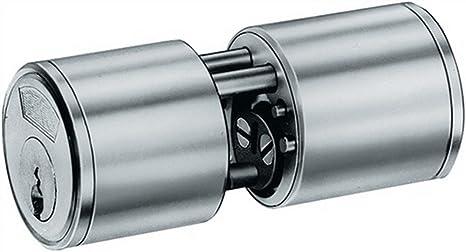 BKS 31070261 - Cerradura tubular (superficie niquelada, 29 ...