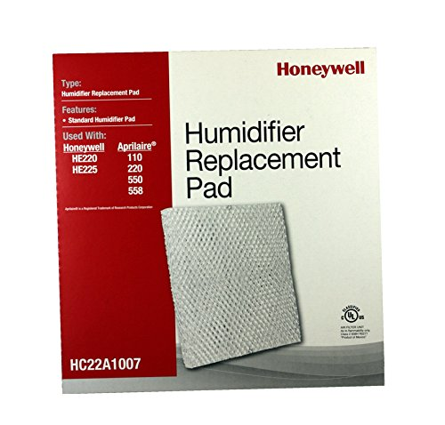 Honeywell HUMIDIFIER REPLACEMENT PAD FOR HE220A & B, HE150A APRILAIRE MODELS 110, 220, 550 (Honeywell He220a Humidifier)