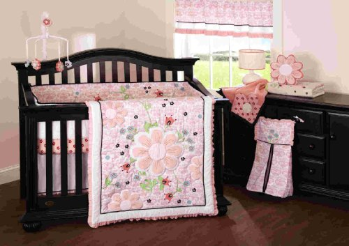 Beansprout Camille 6 Piece Crib Set