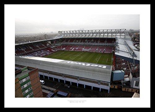 Upton Park Framed 42x30cm Boleyn Ground West Ham United Stadium Photo Memorabilia