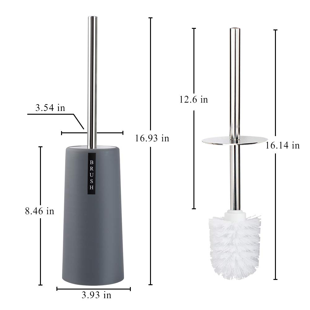 Amazon.com: QJQBMAI - Juego de 2 escobillas de inodoro y ...