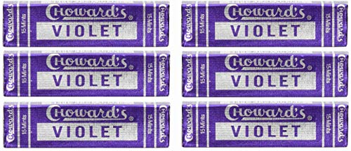 Price comparison product image Violet Mints - Choward's (6 Pack)