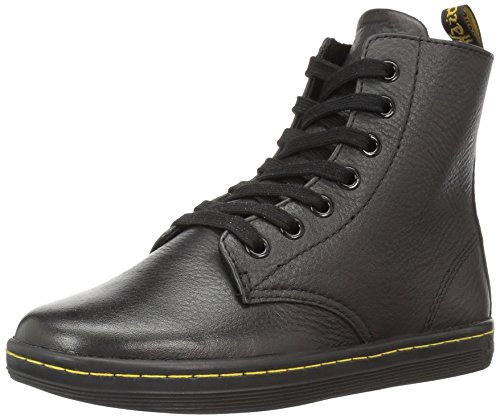 Dr.Martens Leyton 7 Eyelet Game On Black Womens Boots Black