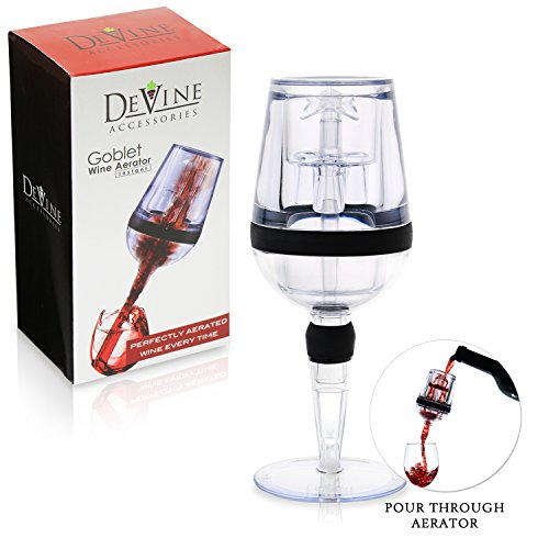 DeVine- AERATOR, Goblet Design Instant Wine Aerator – Professional Grade – Aerate Wines in Seconds by Agog Review