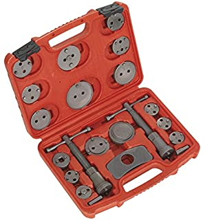 xtremeauto® 24piecekit 429 car blade fuse replacement mini sealey vs0282 brake piston wind back tool kit 18 pieces