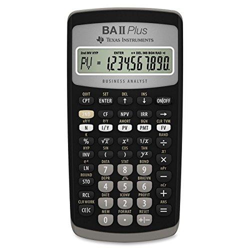 Texas Instruments BA II Plus Financial Calculator (Renewed) (Plus Texas Ba Instruments)
