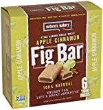 NATURE'S BAKERY, Whole Wheat Fig Bar, Lemon, Pack of 6, Size 6/2 OZ, (Kosher)