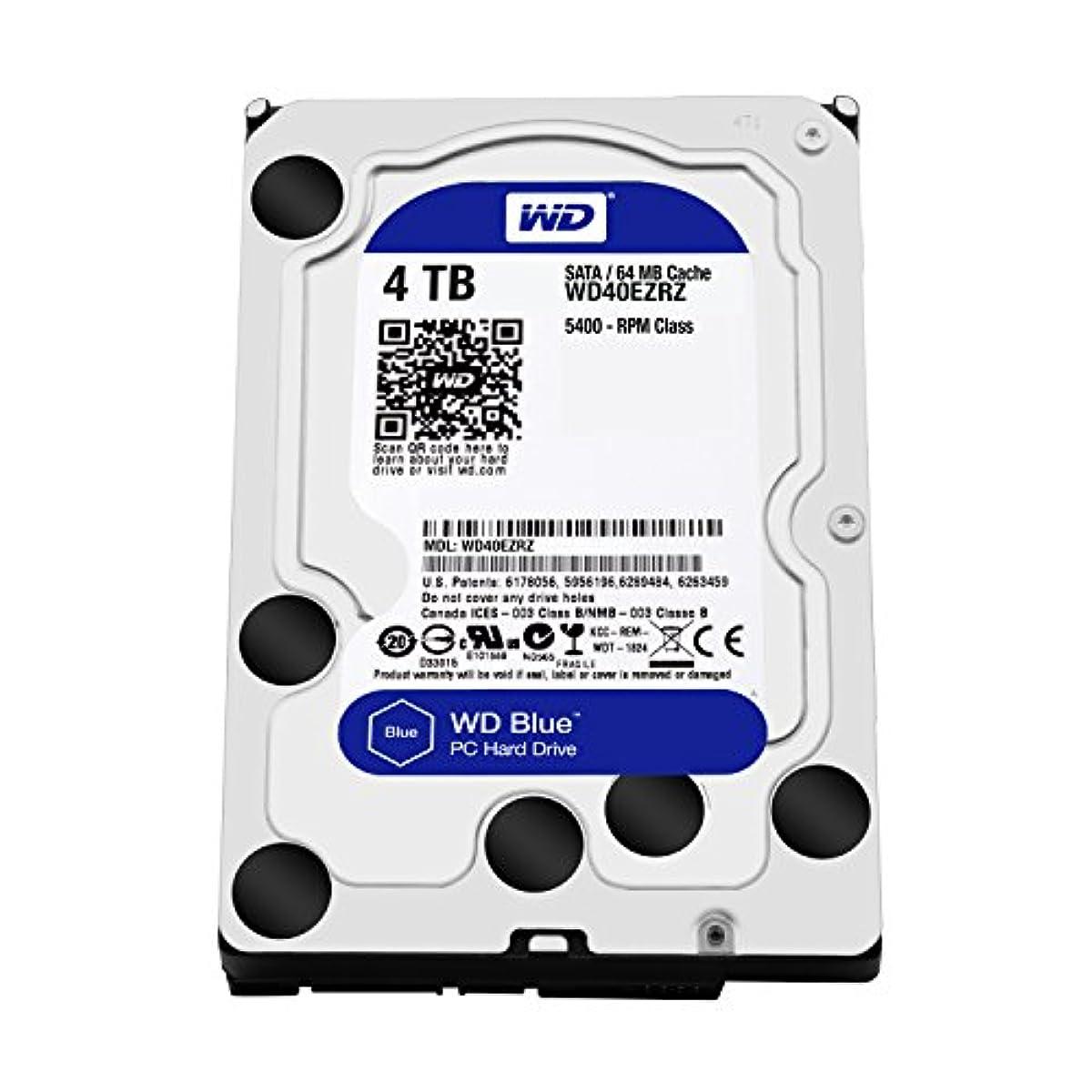 """[해외] WD 내장HDD BLUE 3.5"""" 4TB SATA6GB/S 64MB 5,400RPM 2년 보증 WD40EZRZ-RT2"""