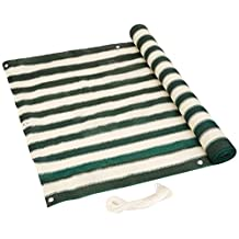 Green and White Privacy Screen for Balconies Fences Shield Rails Protection