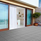 Pure Garden 50-LG1189 Patio and Deck Tiles