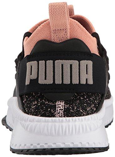 Puma Women's Tsugi Jun Sneaker, Gray Violet/Metallic Beige Puma Black-peach Beige-puma White