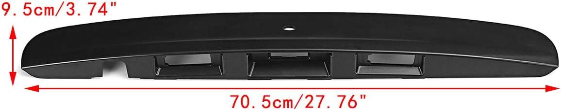 Casinlog Cache-Garniture pour Poign/ée de Coffre /à Hayon avec Hayon pour Cam/éRa I-Key pour Qashqai J10 Jj10 2007 2008 2009 2010 2011 2011