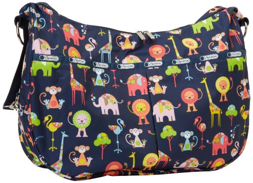 LeSportsac Jessi Baby Shoulder Handbag,Zoo Cute,One Size