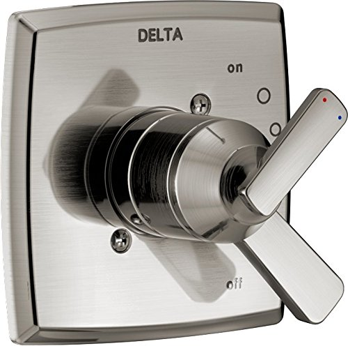 (Delta Faucet T17064-SS Ashlyn Monitor 17 Series Valve Only, Stainless)