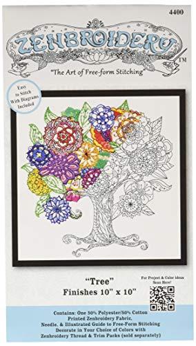 (Design Works Crafts 4400 Tree Craft Kit, Multicolor)