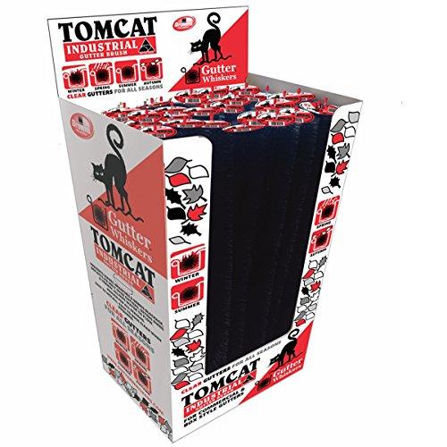 Tamaño grande de grado comercial Tomcat Gutter Whiskers, 39,3x 5,5en, 24Unidad PDQ Pack