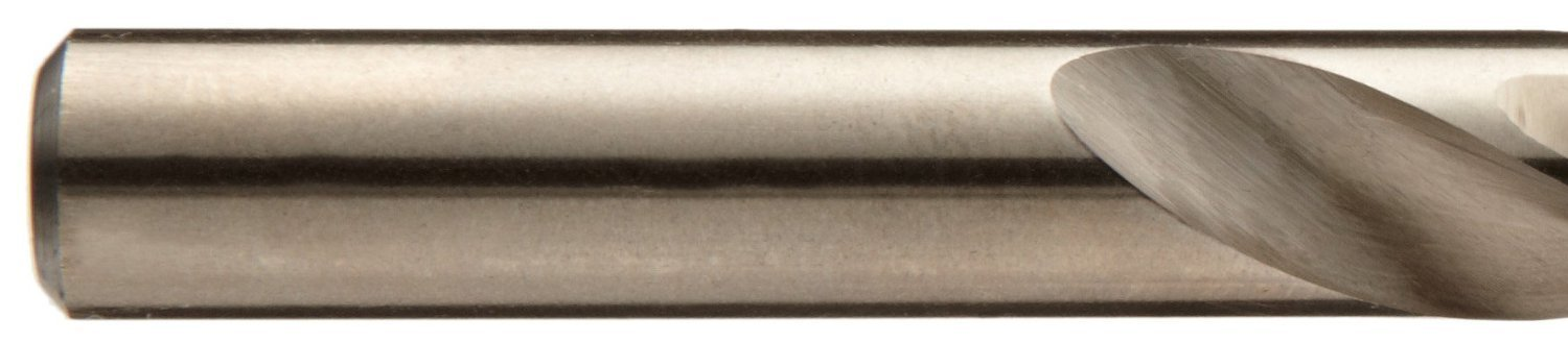 Straight Shank Wire Size 1 Pack of 12 High Speed Steel 135-Degree Split Point Cle-Line C23559 Heavy Duty Screw Machine Length Steam Oxide Finish