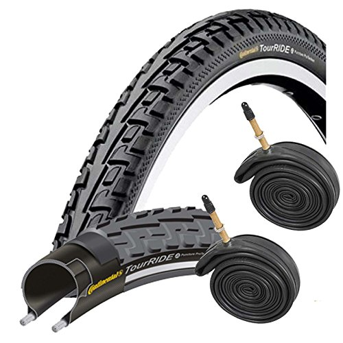 Continental Tour Ride Tire (Continental Tour Ride 700 x 32c Bike Tires with Presta Tubes (Pair))