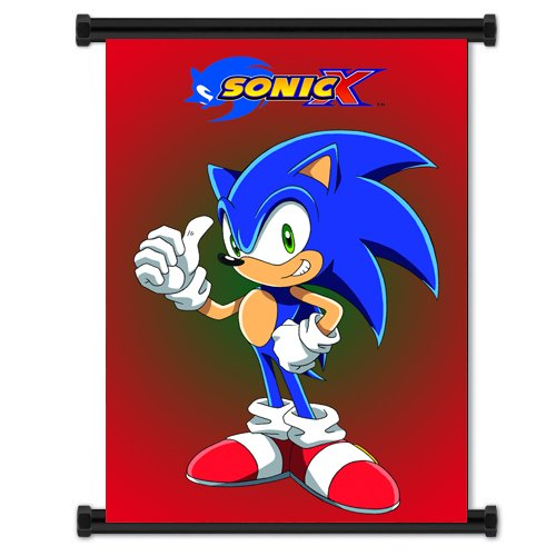 Sonic X Anime Fabric Wall Scroll Poster  Inches -Sonic X-6