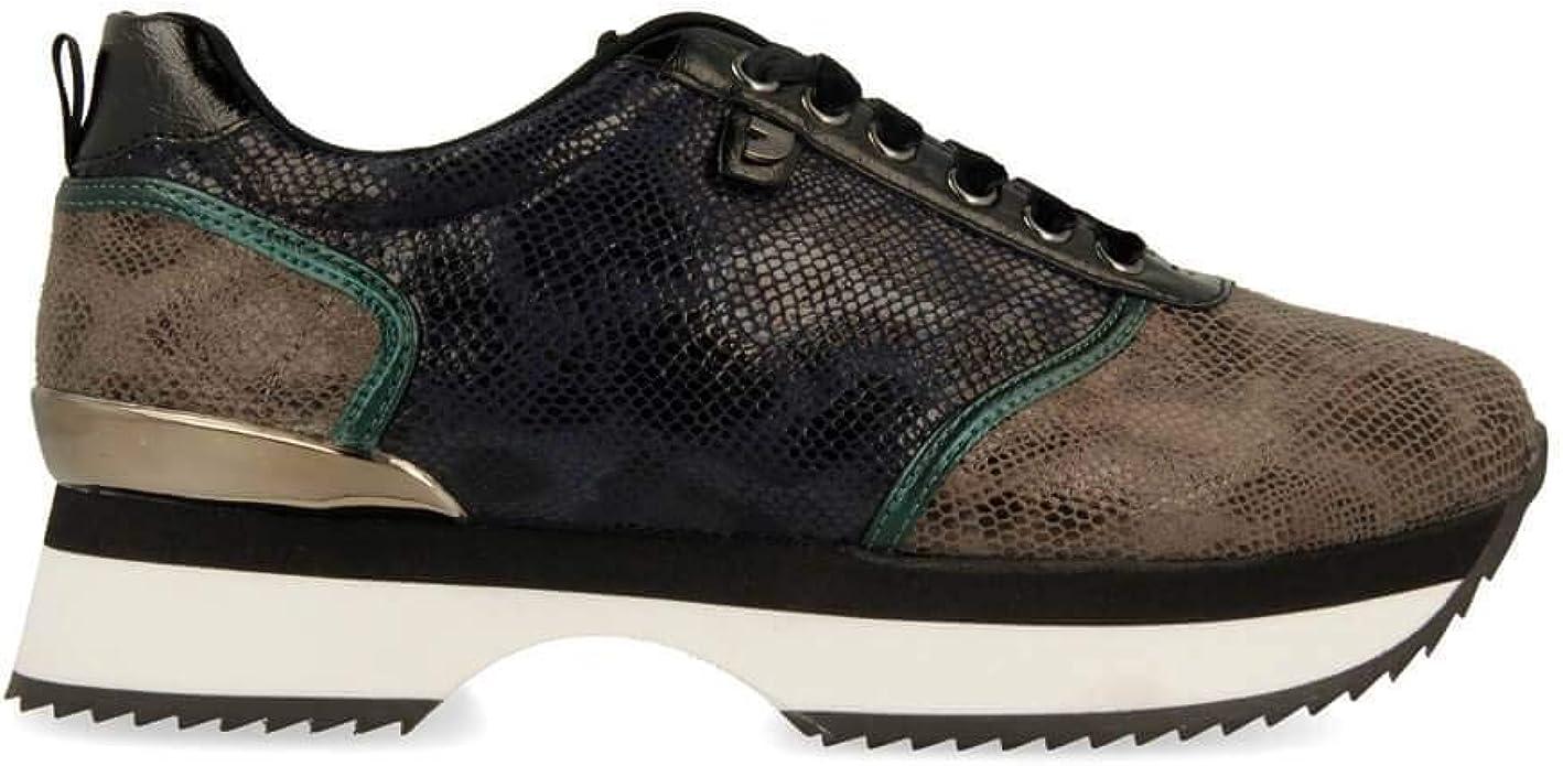 Gioseppo - Sneaker con Textura de Serpiente