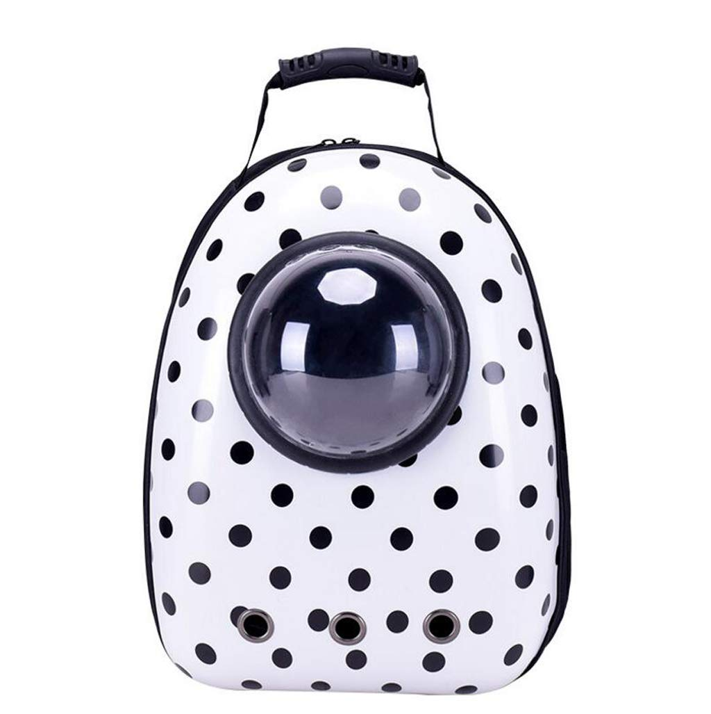 White Onesize White Onesize Astronaut Pet Cat Dog Puppy Carrier Travel Bag Space Capsule Backpack Breathable for Cat Dog (color   White, Size   OneSize)